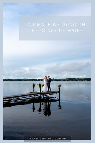 intimate wedding and elopement on the coast of maine
