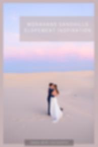 monahans sandhills elopement in monahans texas