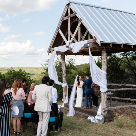 Carly & Adriel Hill Country Casitas Elopement | Texas Elopement Photographer