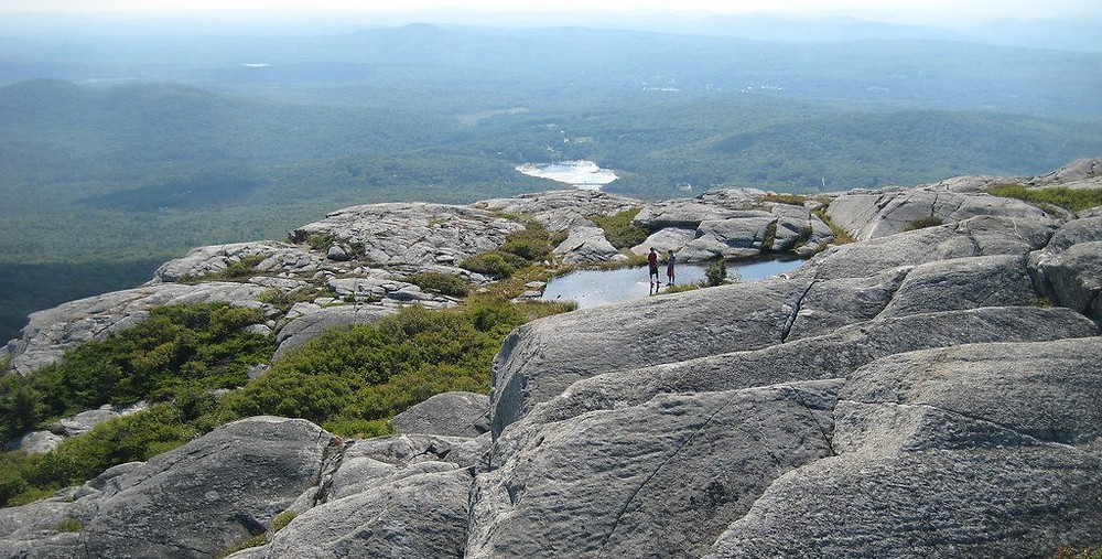 view from mount monadnock