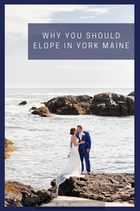 why you should elope in maine canva cover for pinterest