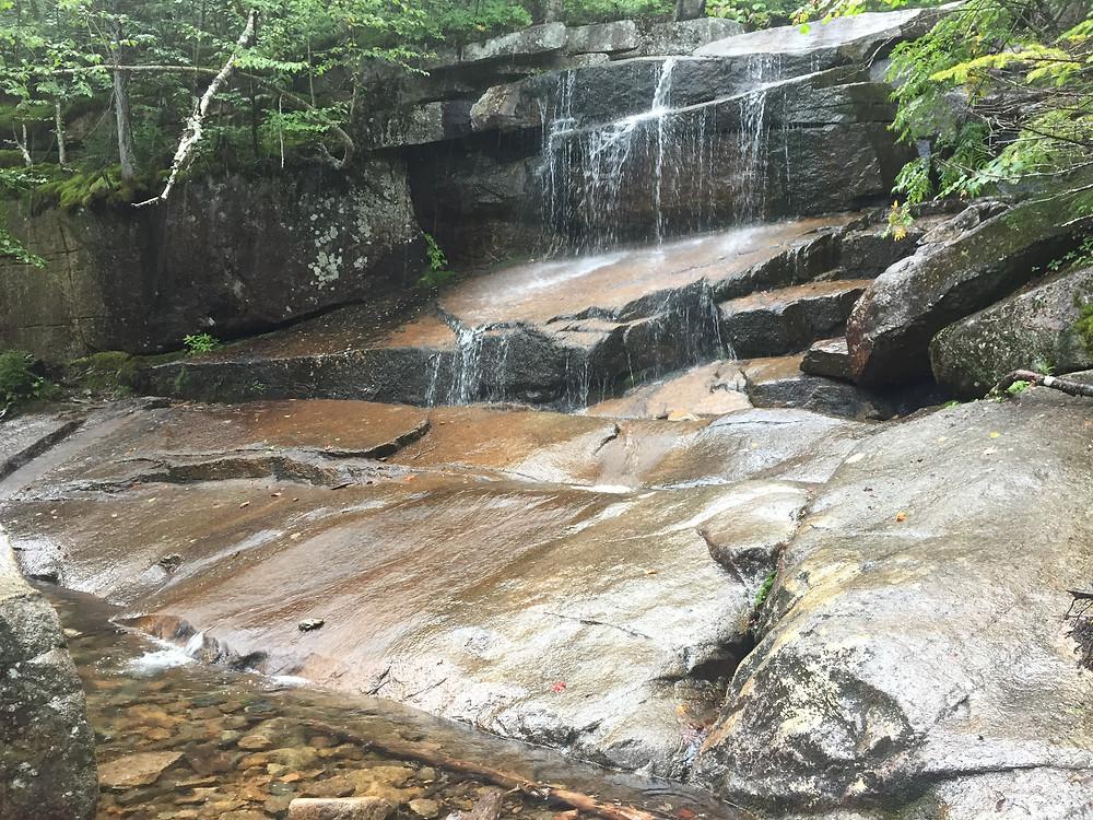 Champney Falls on Champney Trail at Mount Chocorua
