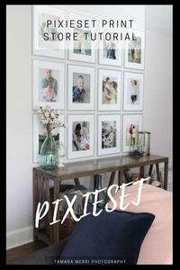 pinterest cover for pixieset print store tutorial