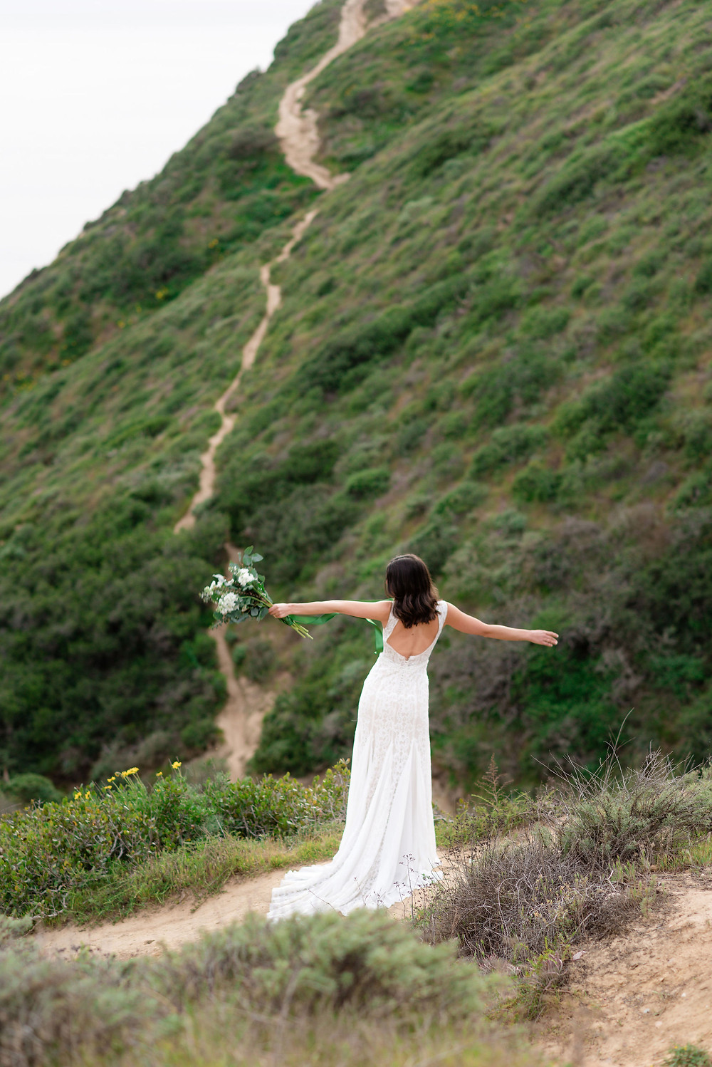 adventurous bridal session