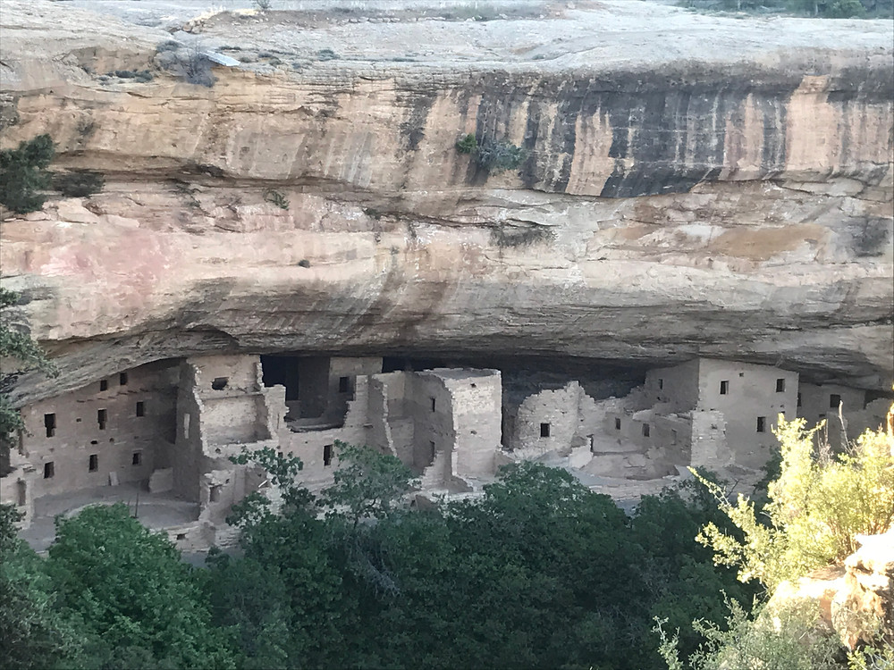 spruce tree house cliff dwelling at mesa verde national park in colorado