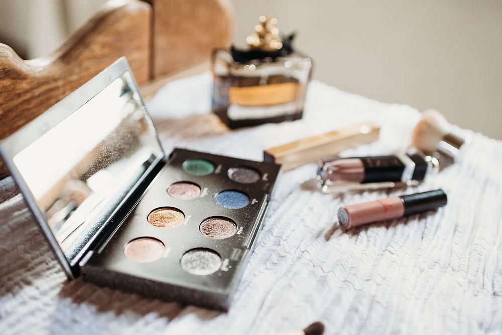 makeup detail shot