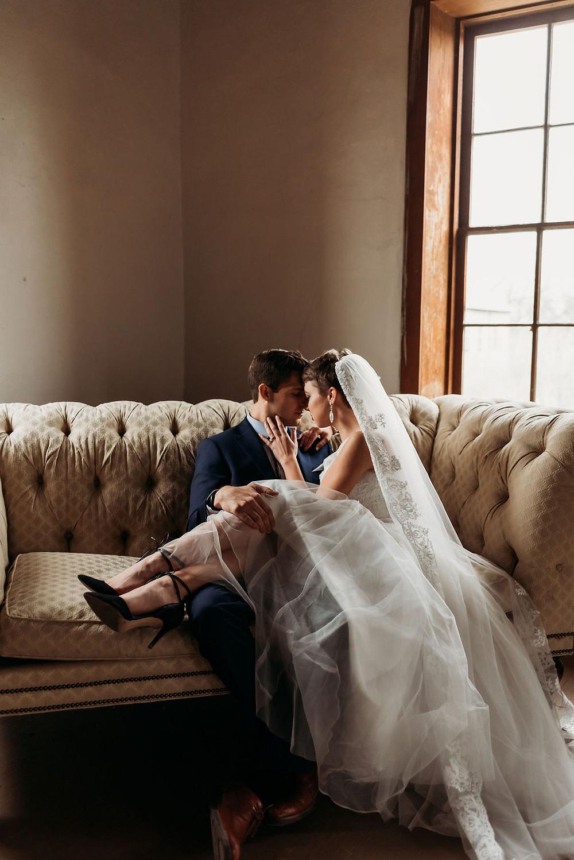 bride and groom wedding portrait austin texas