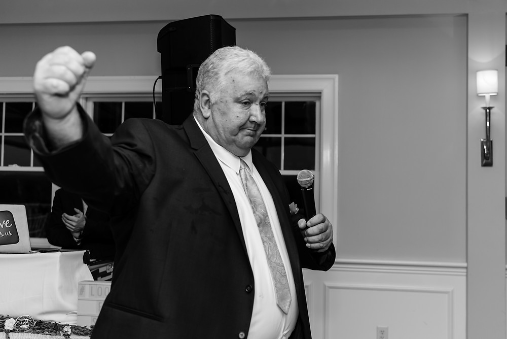 father's speech at wedding at brookside country club