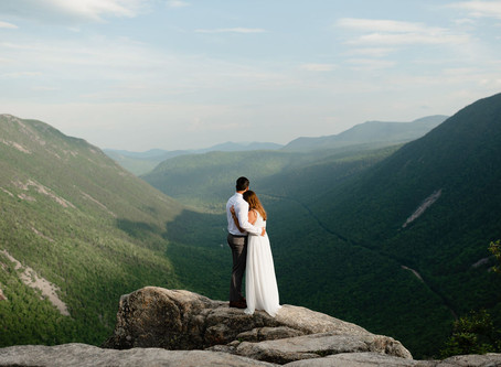 Mount Willard Elopement | New Hampshire