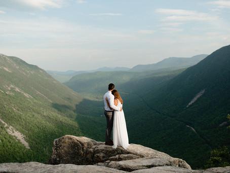 Mount Willard Elopement | New Hampshire
