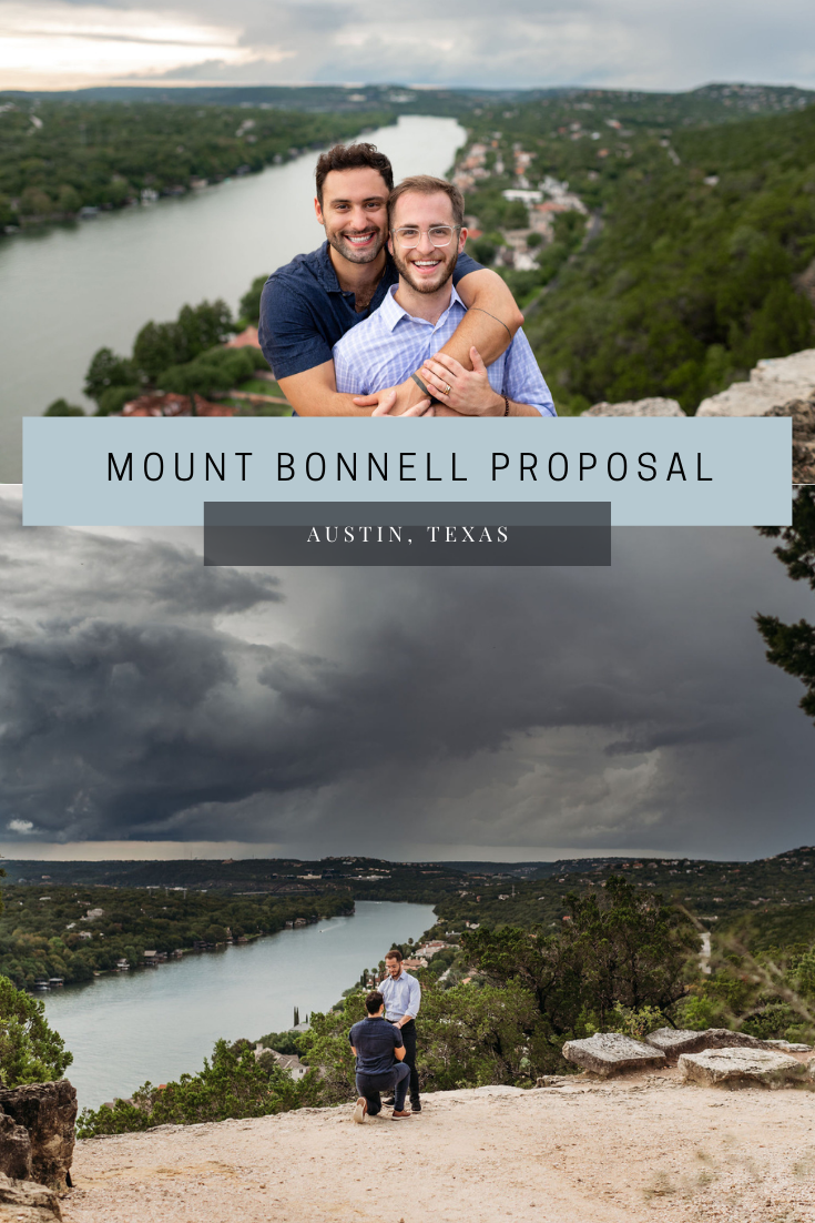 mount bonnell proposal pinterest pin cover photo