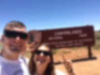 canyonland national park elopement