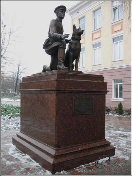 1 Белгород Памятник капитану милиции Ф.С