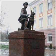 Памятник капитану милиции Хихлушке, г. Белгороод