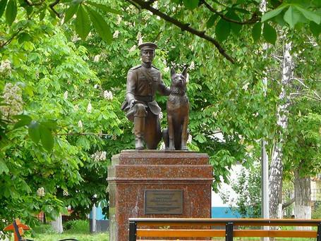 Первый в России памятник милиционеру-кинологу открыт в Белгороде