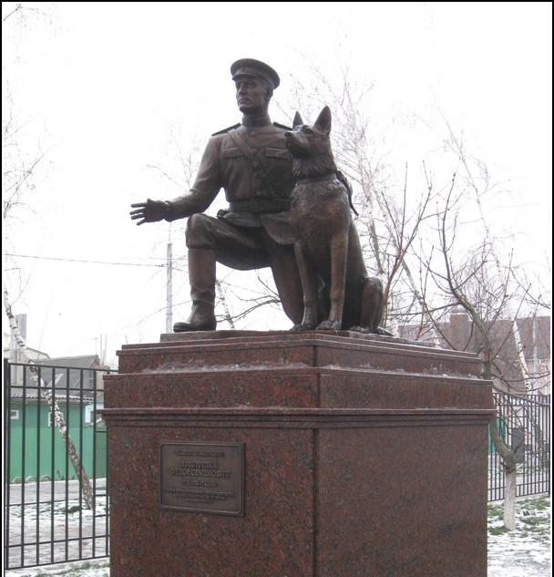 Памятник капитану милиции Хихлушке, г. Белгород