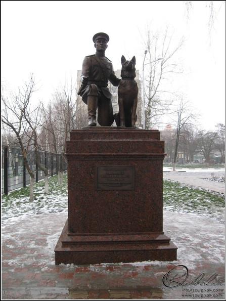 2 Белгород Памятник капитану милиции Ф.С