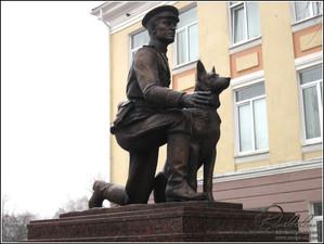 4 Белгород Памятник капитану милиции Ф.С