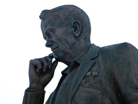 Открытие памятника Василию Горину
