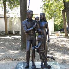 Памятник семье, Бронза