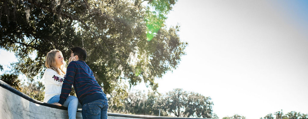 Skate Park engagement session, ocala, fl