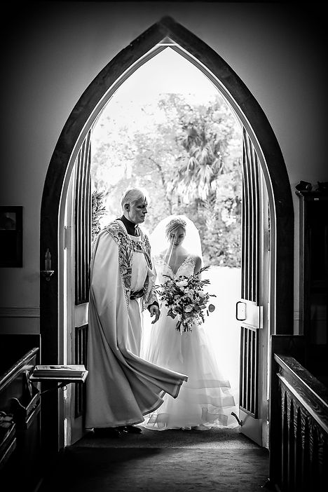 Catholic church wedding in Ocala, Florida