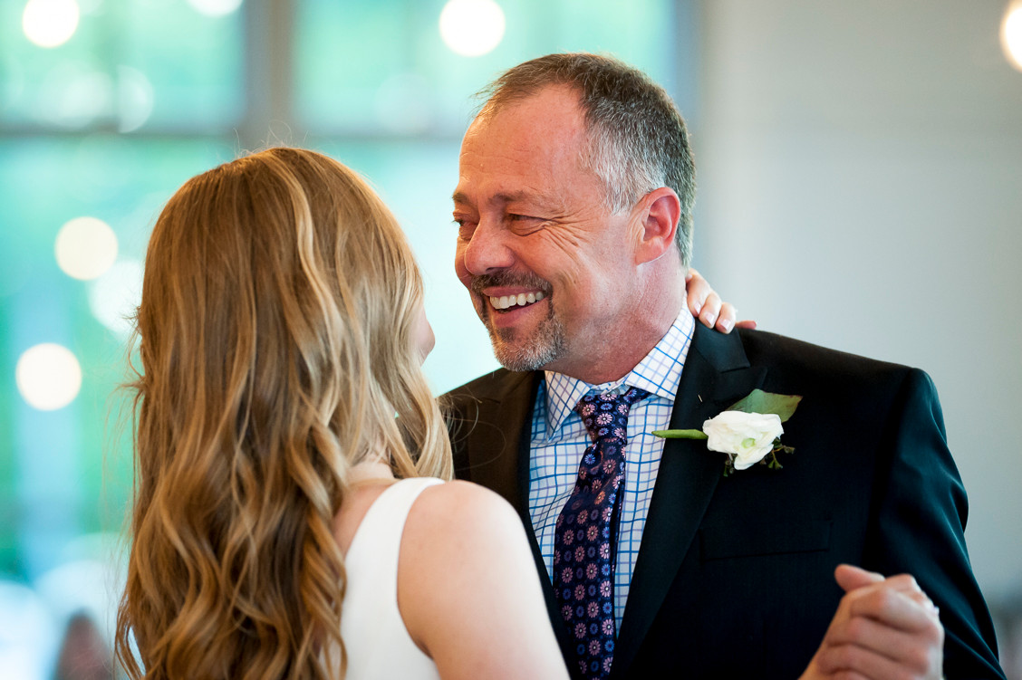 Father daughter dance, wedding