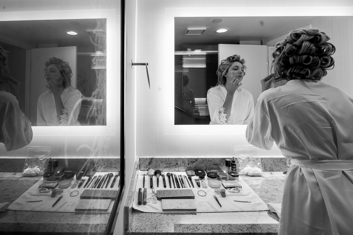 wedding makeup, getting ready for your wedding