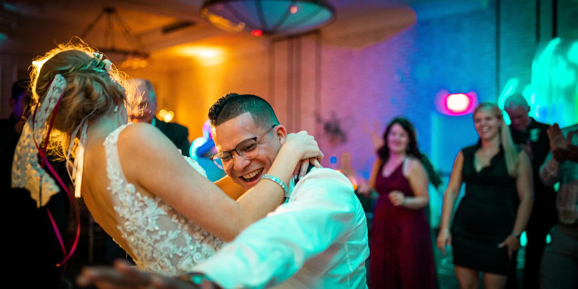 Wedding Reception dance party, DJ Rocket