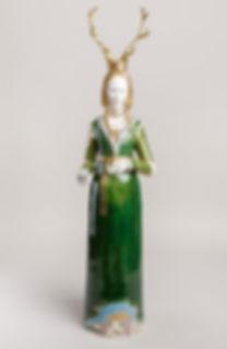 Lady of Waltham Forest H100 x W26 x D25c