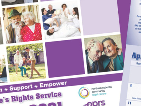 2021 Older People's Rights Calendar - Available for Download