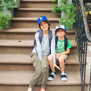 William and James, nephews