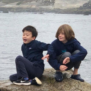 Lucas and William, nephews