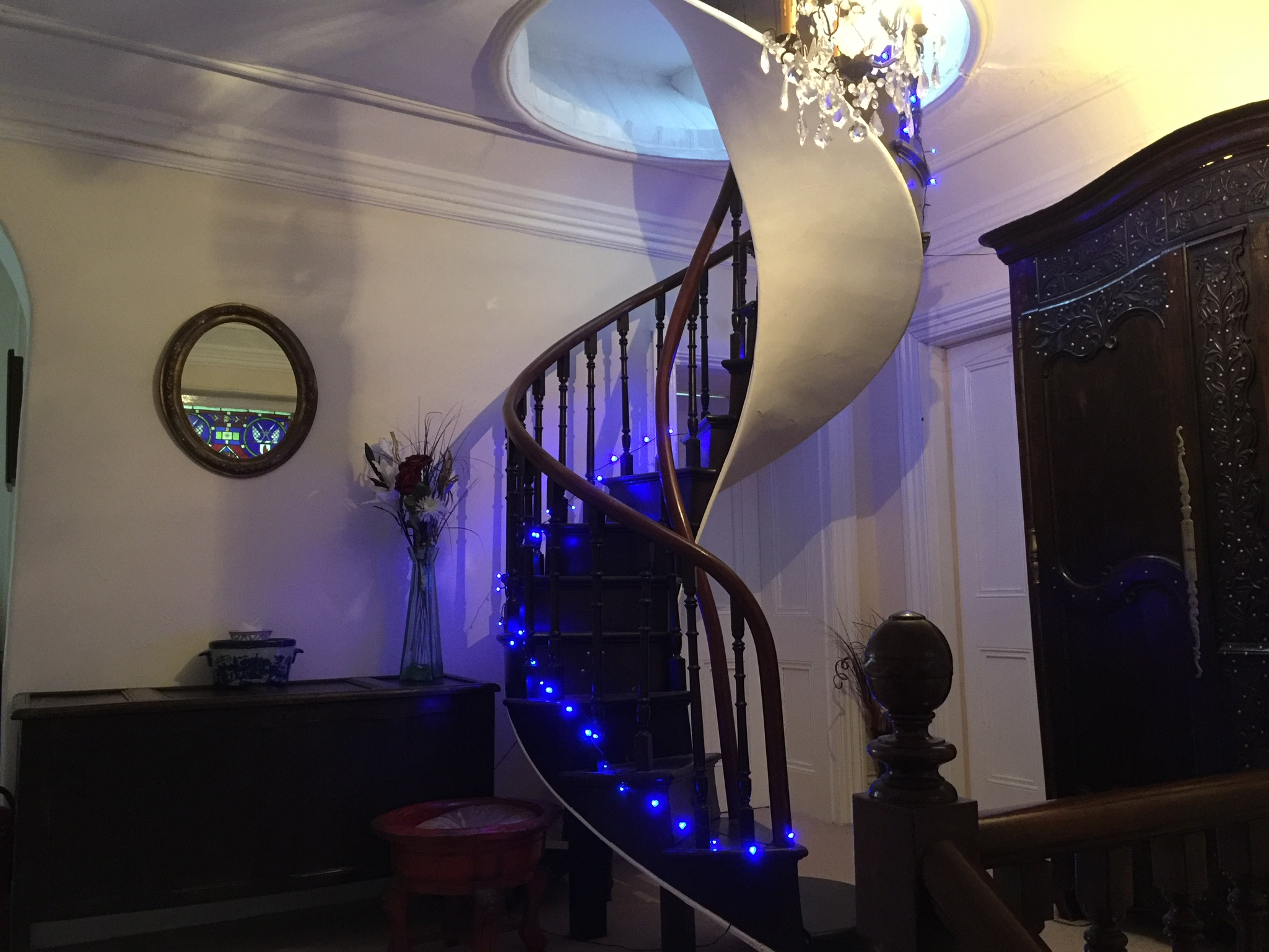The Priory B&B Stairs to Turret
