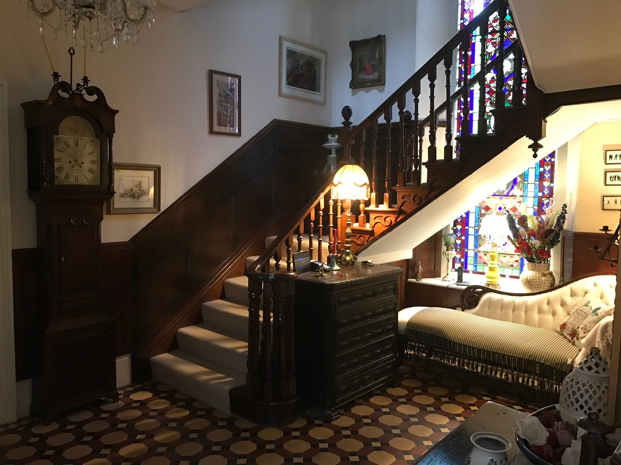 The Priory B&B Entrance Hall