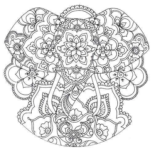 Mandala 6: The Elephant