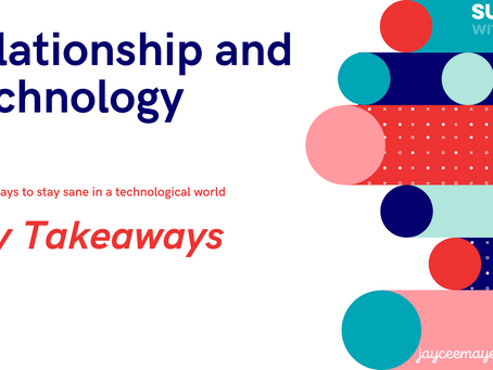 Relationships and Technology Discussion - Thank you