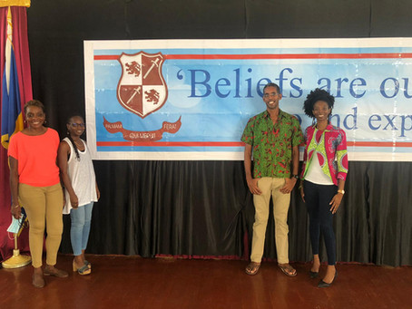 Success with JAY: Team Building Workshop - Coleridge and Parry Secondary School