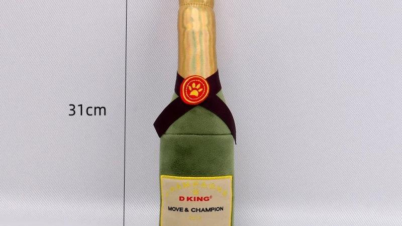 Dog Toy Wine Bottle