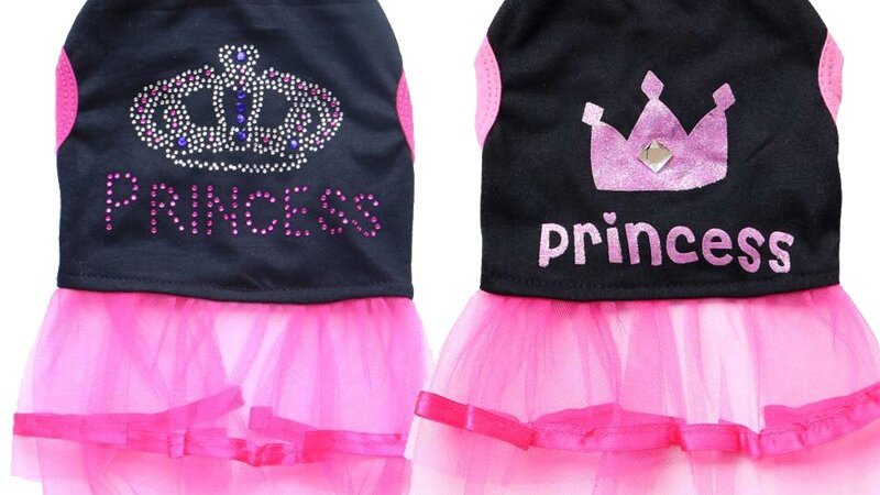 Princess Dress, doggy dress ups, super cute