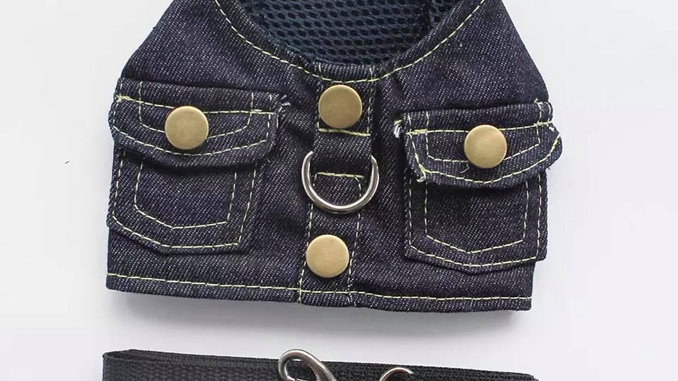 Cool Denim Harness