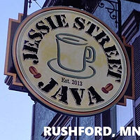 Jessie St Java Rushfod Minnesta Coffee sandwiches drive thru bluff country restaurnt coffee shop cafe soup local