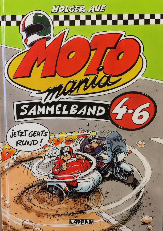 Motomania Comic 4-6
