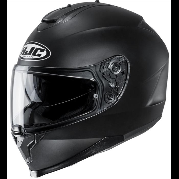 HJC C70 schwarz matt
