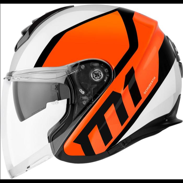 Schuberth M1 Flux orange