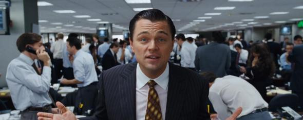 Leonardo Di Caprio in 'Wolf of Wall Street'