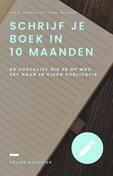 Checklist 'Schrijf je boek in 10 maanden'