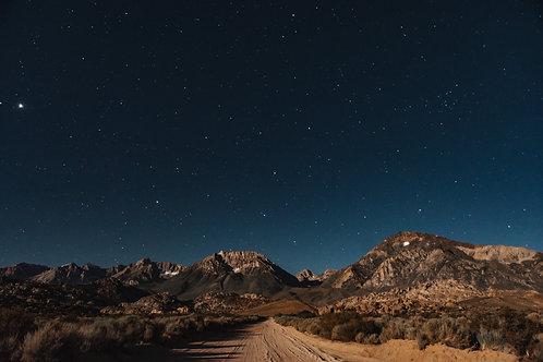 Desert Moon Rise