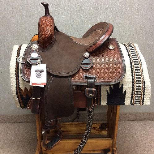 "13.5"" x 7"" Martin Stingray Barrel Saddle"