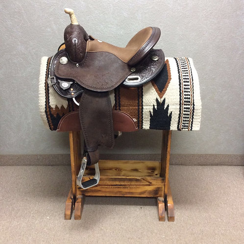 "14.5"" Kelly Kaminski Swift Barrel Saddle"